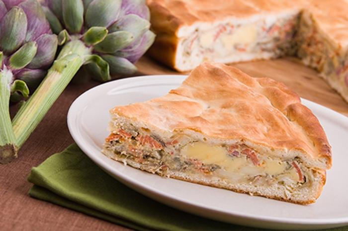 Alcachofa Pie