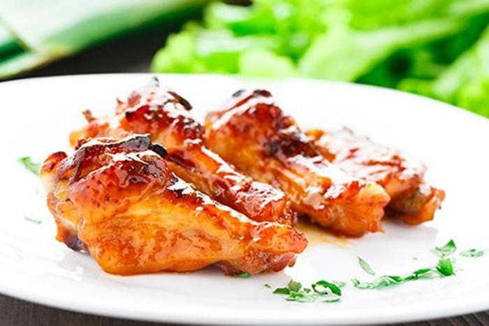 Alitas de Pollo con Salsa de Miel