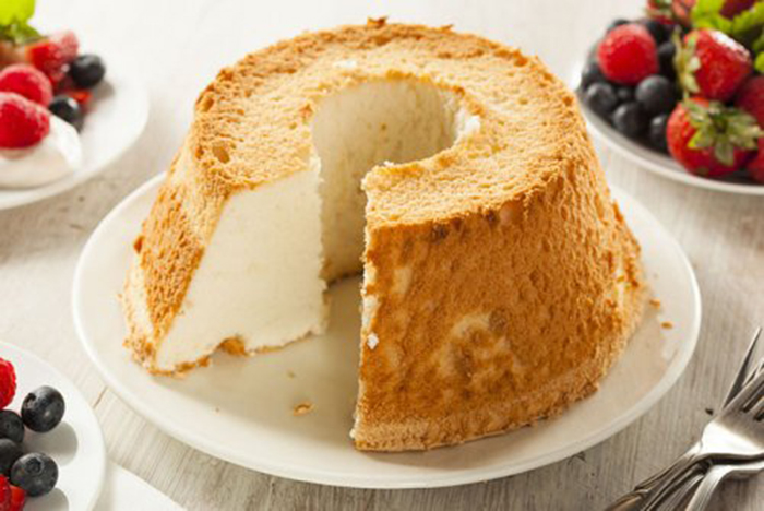 Angel Food Cake, Pastel Americano