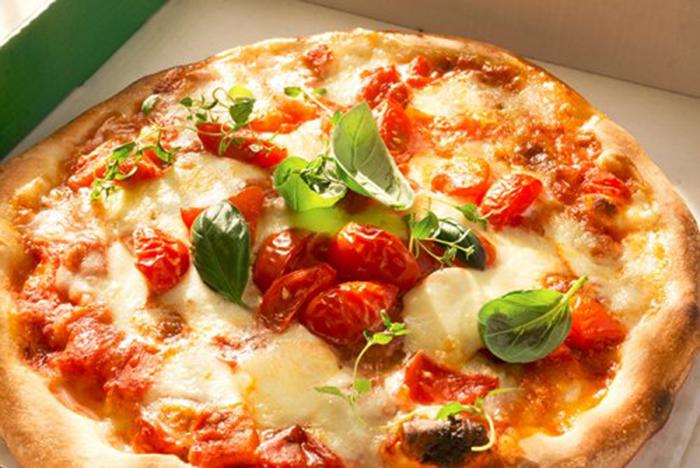 Auténtica Pizza Margarita