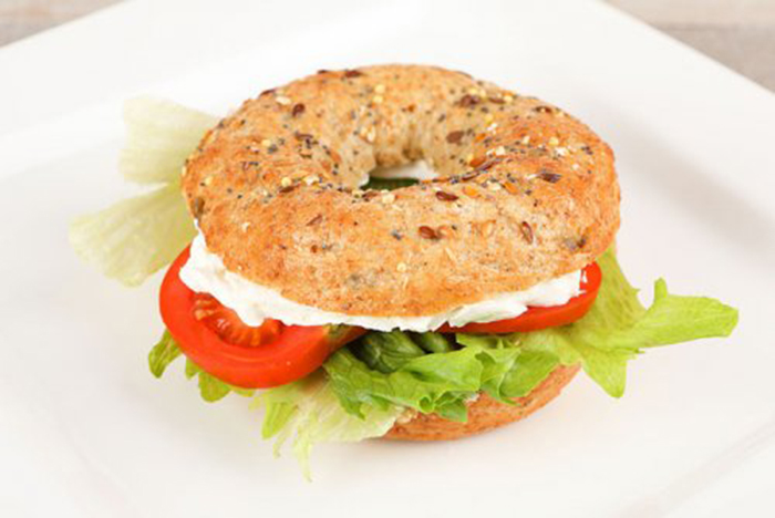 Bagel Vegetariano