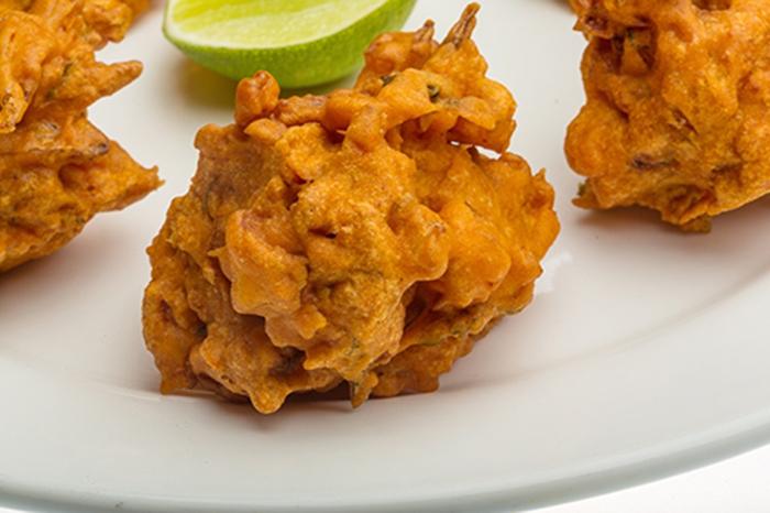 Bhaji de Cebolla Receta India