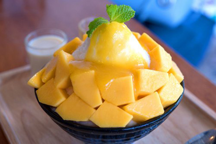 Bingsu con Mango