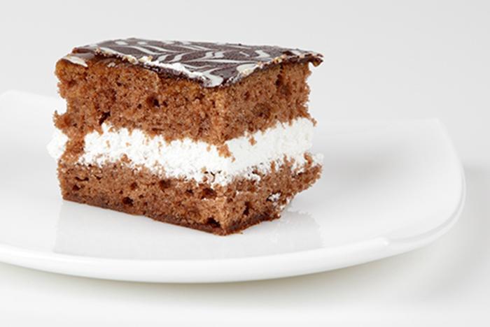 Bizcocho de Chocolate con Nata