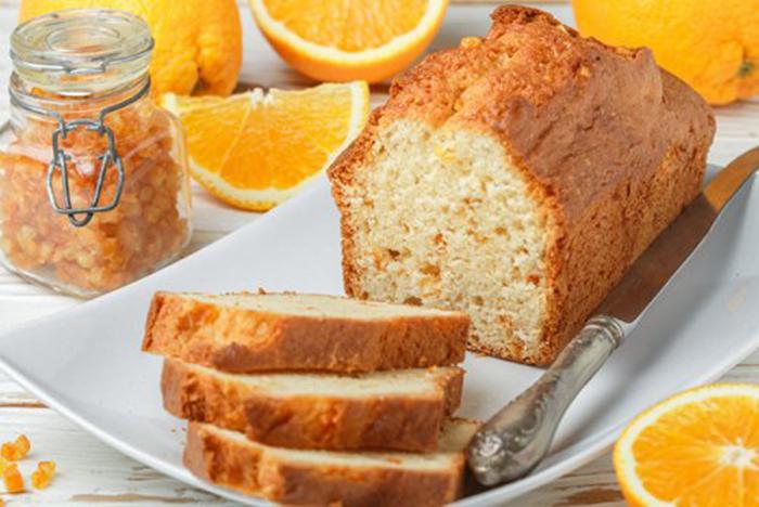 Bizcocho de Naranja y Yogur