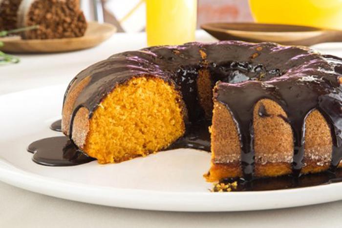 Bizcocho de Zanahoria con Chocolate