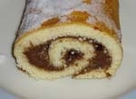 Brazo Relleno de Crema de Chocolate y Cafe (Thermomix).