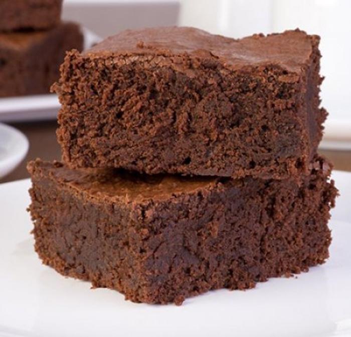 Brownie en Microondas.