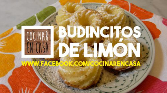 Budincitos de Limón