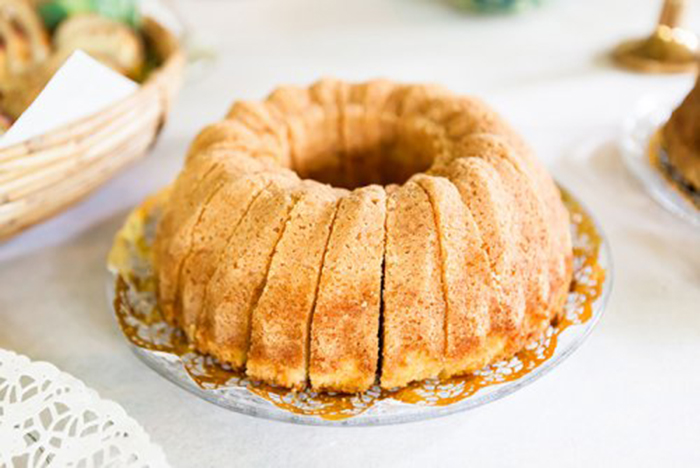 Bundt Cake de Café