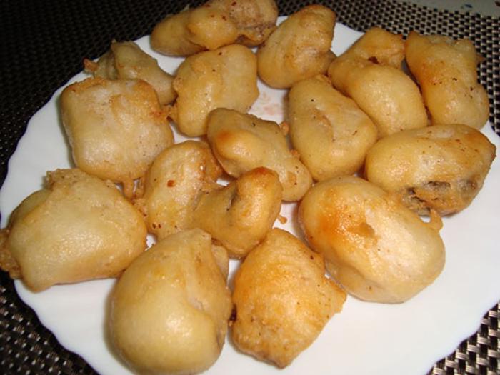 Buñuelos de merluza