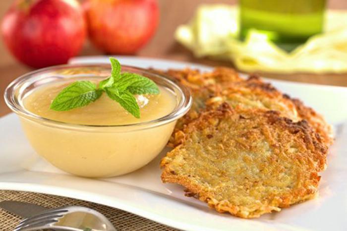 Buñuelos de Patata y Manzana