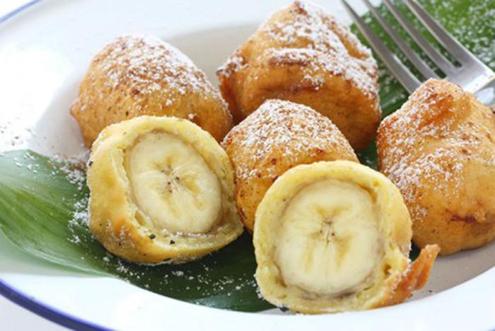 Buñuelos de Plátano Fritos