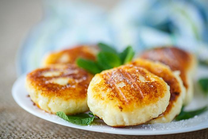 Buñuelos de Queso Fritos