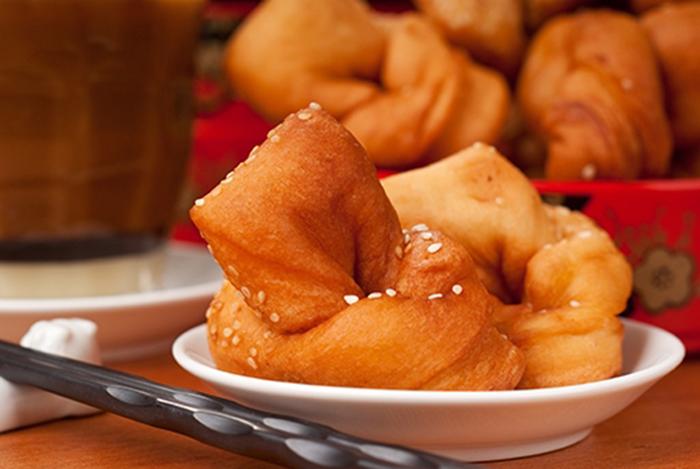 Buñuelos Fritos Chinos
