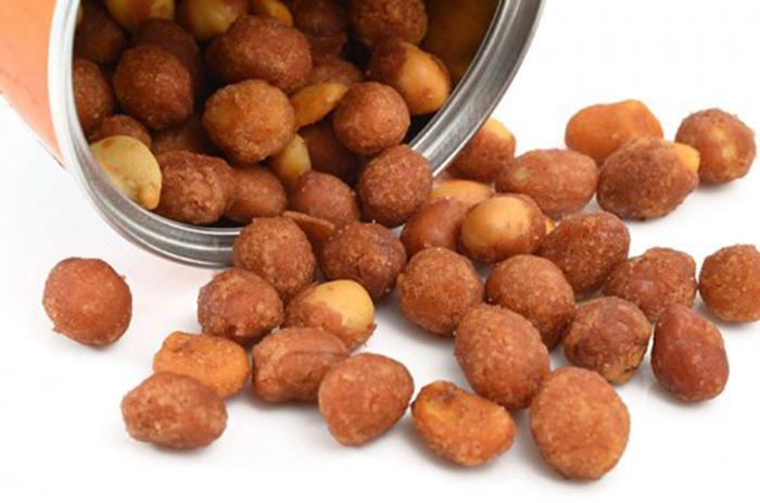 Cacahuetes a la Miel y Canela