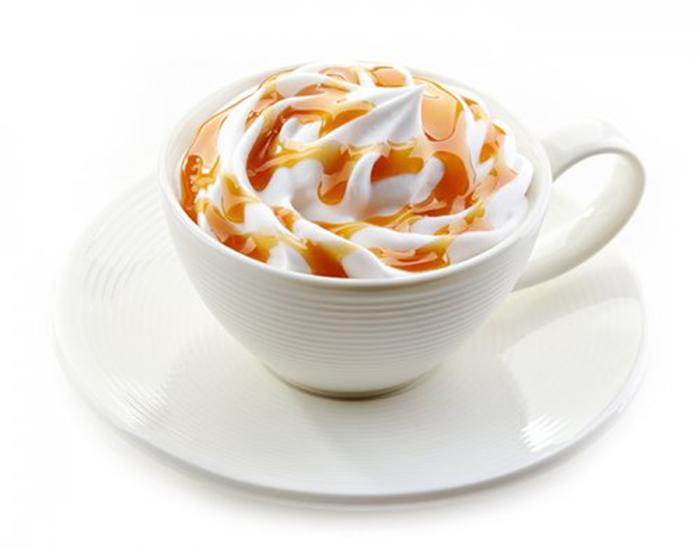 Café con Leche, Nata y Caramelo