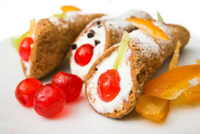 Cannoli Sin Gluten