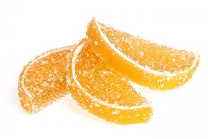 Caramelos de Naranja Natural