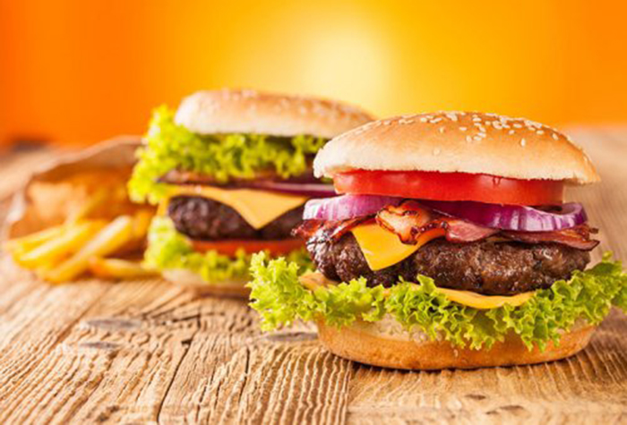 Cheeseburger Casera