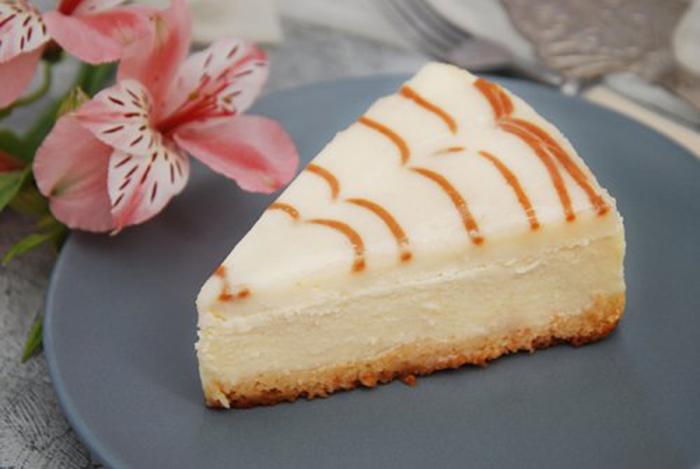 Cheesecake de Caramelo sin Horno