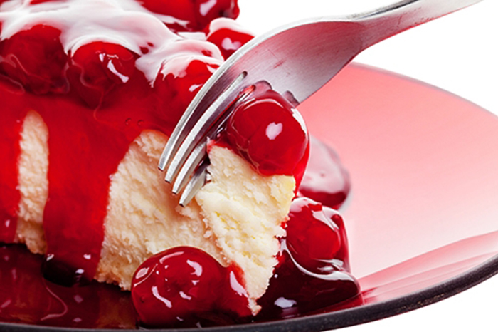 Cheesecake de Cereza
