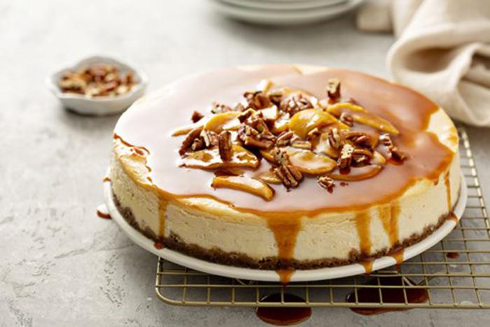 Cheesecake de Manzana Caramelizada
