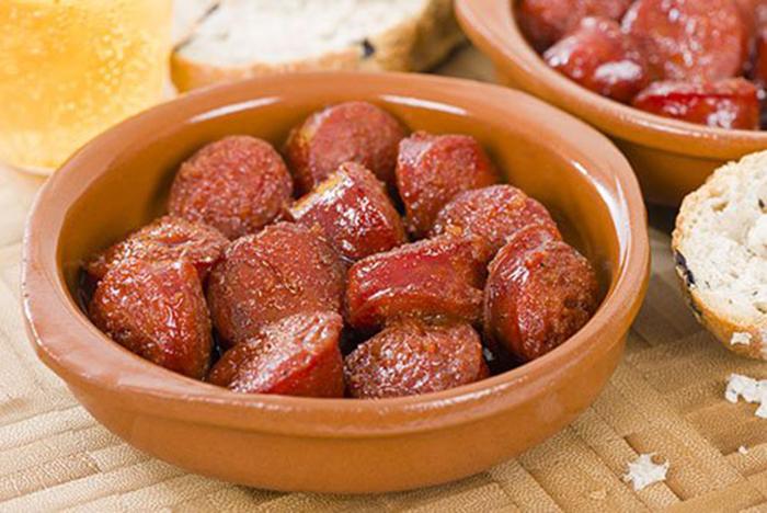 Choricitos Picantes a la Sidra