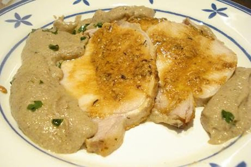 Cinta de lomo al horno (Arista al forno, Italia)