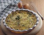 Clafoutis de Poros y Camembert.