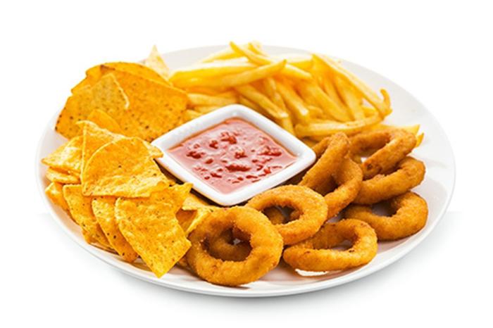 Combo de Fritos con Salsa Casera