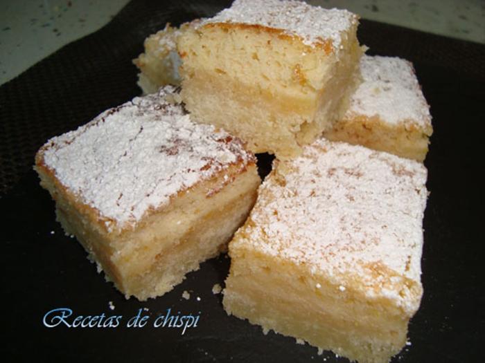 Cortadillos de limon(lemon bars) de chispi