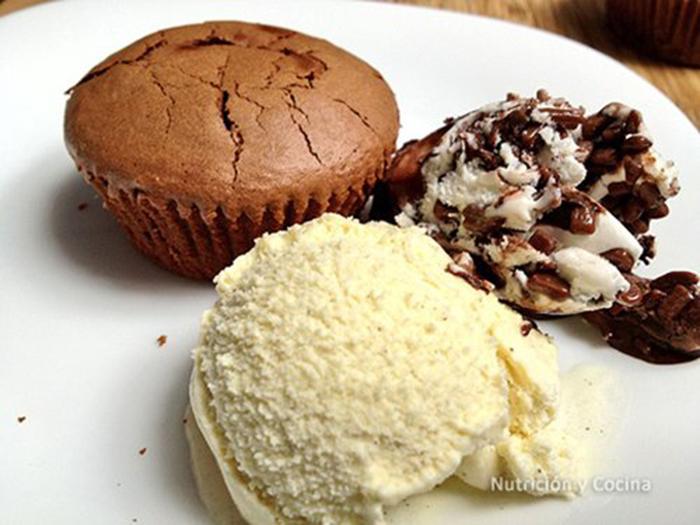 Coulant de Chocolate muy Fácil