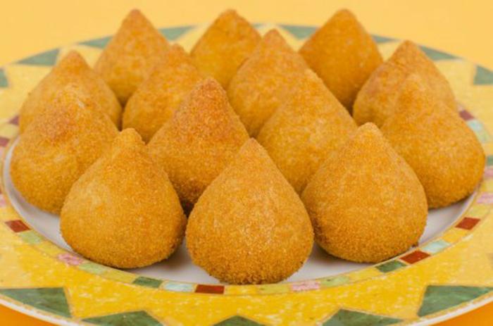 Coxinhas, Croquetas de Pollo Brasileñas