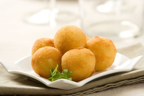 Croquetas de Patata con Relleno