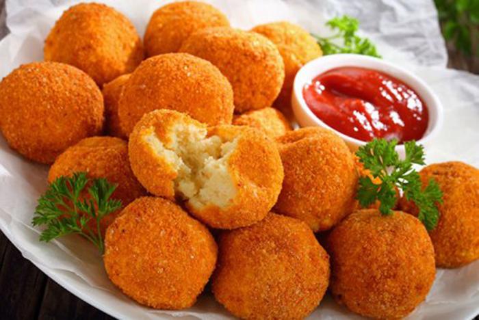 Croquetas de Patata y Queso