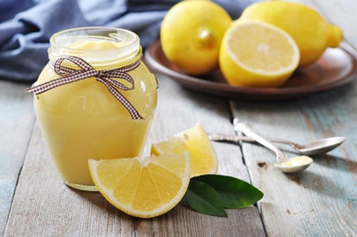 Cuajada de Limón Casera