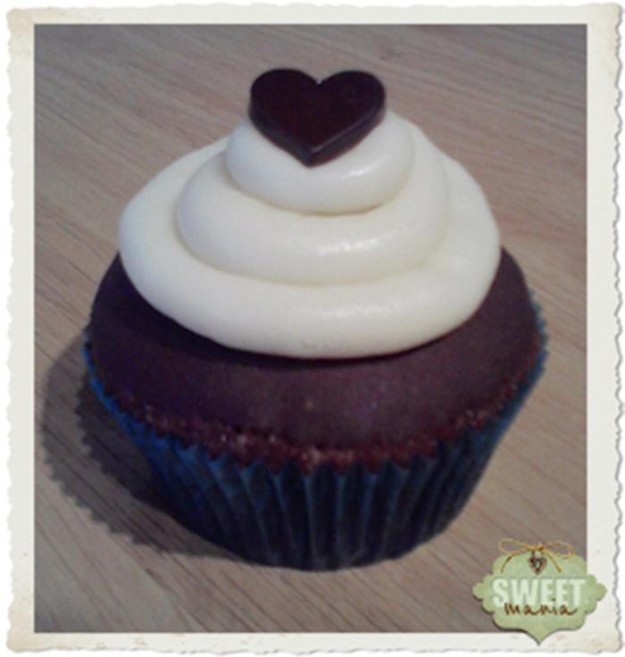 Cupcakes Blanco y Negro