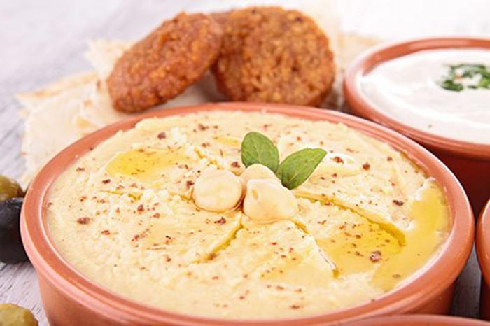 Diferentes Acompañamientos para el Hummus
