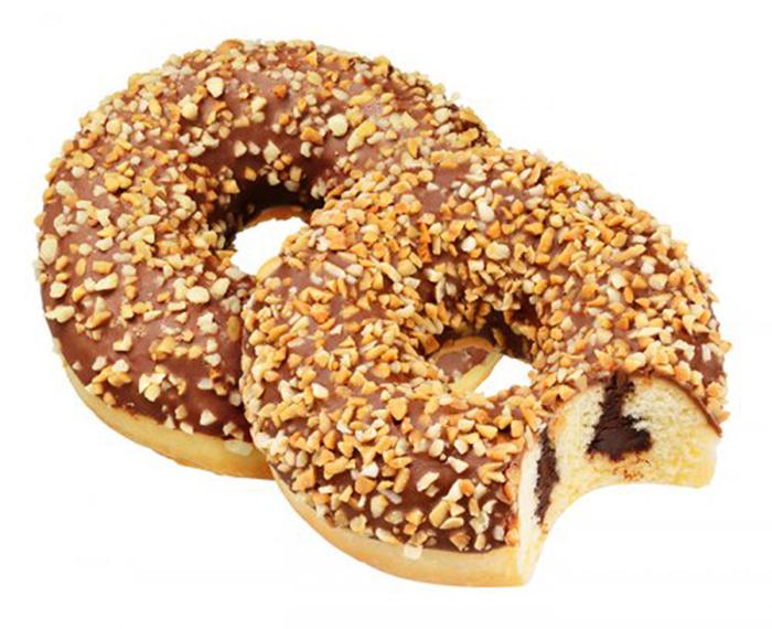 Donut de Chocolate y Cacahuetes