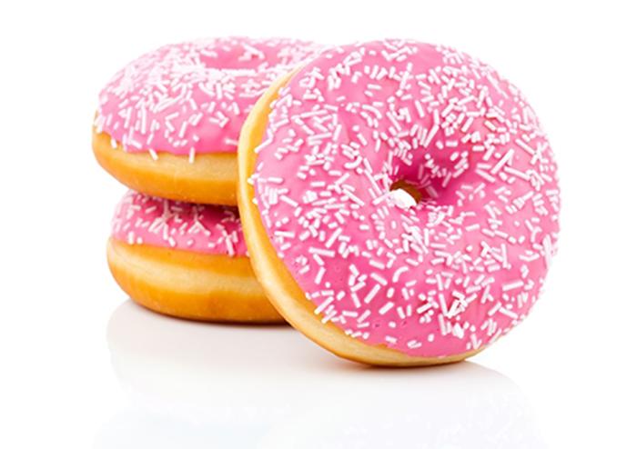 Donuts con Glaseado Rosa