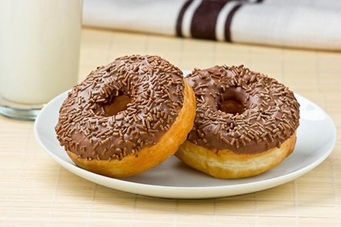 Donuts de Azucar y Chocolate.