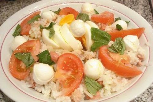 Ensalada de arroz (Insalata di riso, Italia)