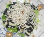 Ensalada de Gulas con Pasta.