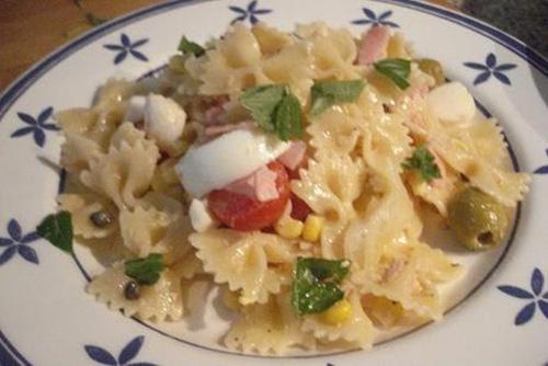 Ensalada de pasta (Insalata di pasta, Italia)