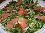 Ensalada de Salmon Ahumado.