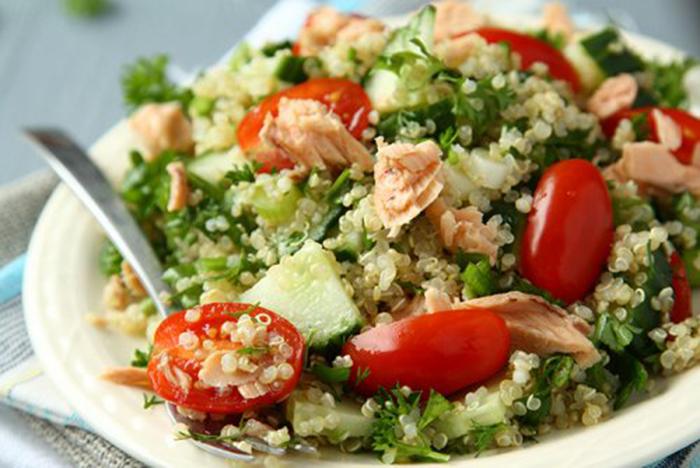Ensalada Saludable de Quinoa