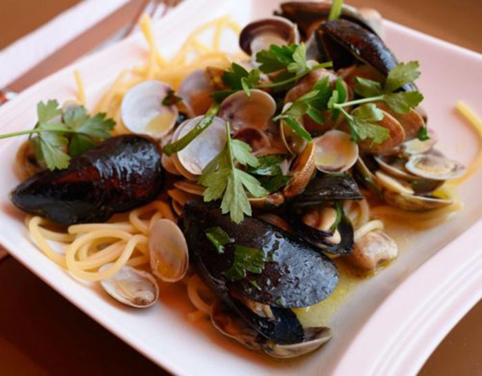 Espagueti Frutti di Mare