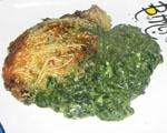 Espinacas con Salsa de Queso y Huevo (Thermomix).