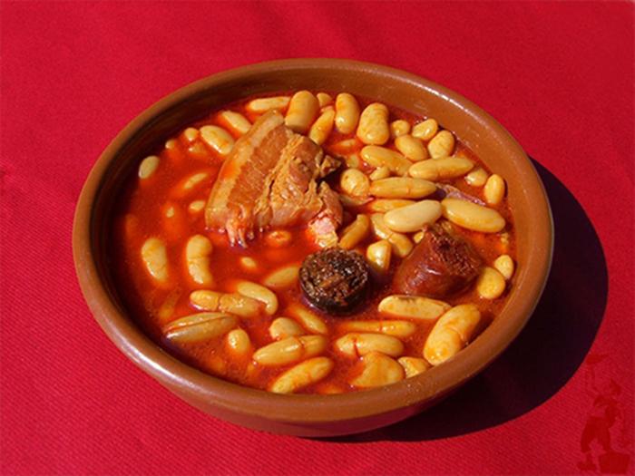 fabada asturiana en olla express receta